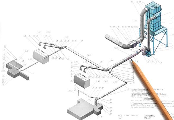 Проект вентиляции, проектирование вентиляции, разработка проекта вентиляции.